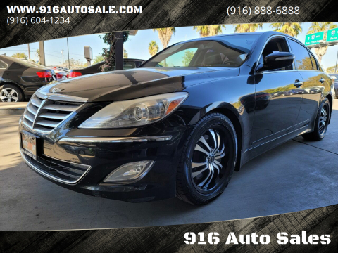 2013 Hyundai Genesis for sale at 916 Auto Sales in Sacramento CA