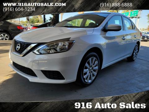 2017 Nissan Sentra for sale at 916 Auto Sales in Sacramento CA