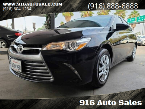 2017 Toyota Camry for sale at 916 Auto Sales in Sacramento CA