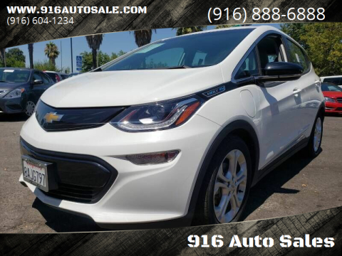 2017 Chevrolet Bolt EV for sale at 916 Auto Sales in Sacramento CA