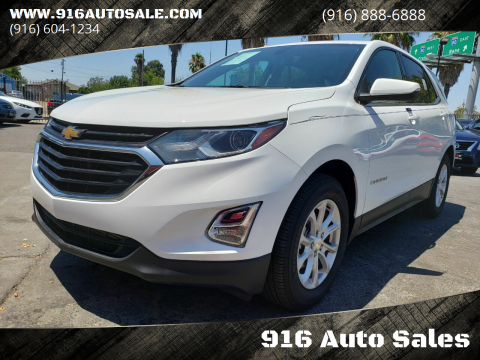 2018 Chevrolet Equinox for sale at 916 Auto Sales in Sacramento CA