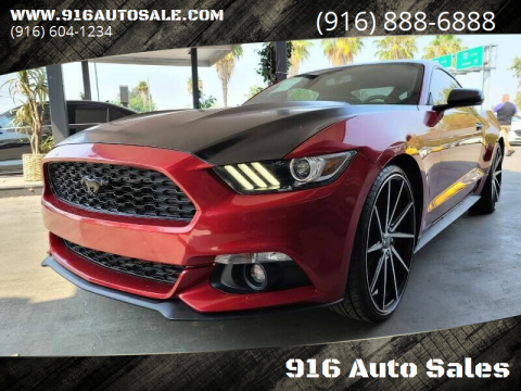 2015 Ford Mustang for sale at 916 Auto Sales in Sacramento CA