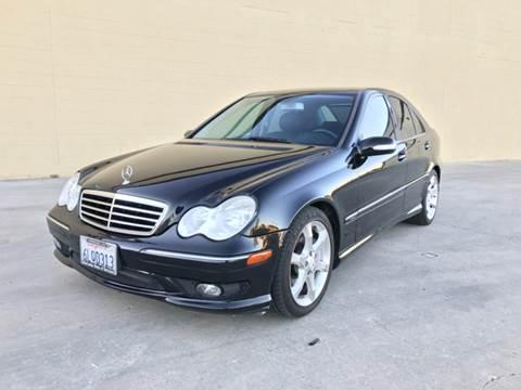 2007 Mercedes-Benz C-Class for sale at LT Motors in Rancho Cordova CA