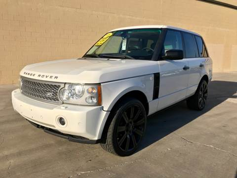 2006 Land Rover Range Rover for sale in Rancho Cordova, CA
