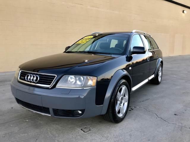 2005 Audi Allroad Quattro for sale at LT Motors in Rancho Cordova CA