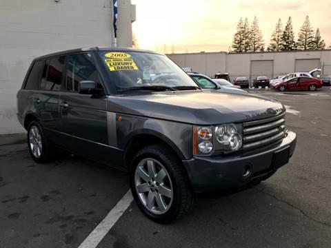 2005 Land Rover Range Rover for sale at LT Motors in Rancho Cordova CA