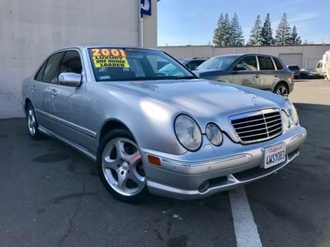 2001 Mercedes-Benz E-Class for sale at LT Motors in Rancho Cordova CA