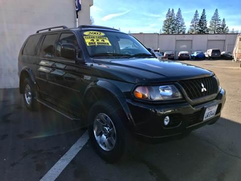 2002 Mitsubishi Montero Sport for sale at LT Motors in Rancho Cordova CA