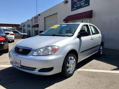 2006 Toyota Corolla for sale at LT Motors in Rancho Cordova CA
