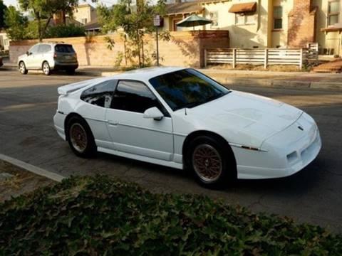 1988 Pontiac Fiero for sale in Beverly Hills, CA
