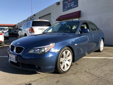 2004 BMW 5 Series for sale at LT Motors in Rancho Cordova CA