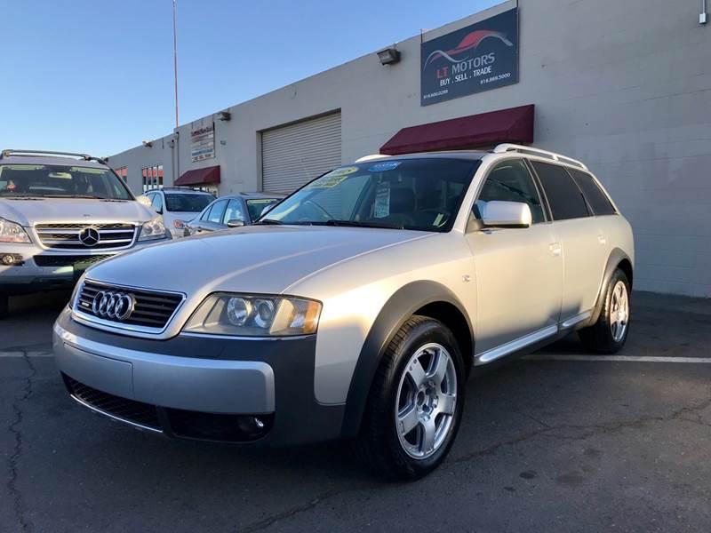 2005 Audi Allroad for sale at LT Motors in Rancho Cordova CA