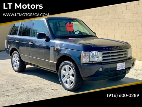 Range Rover Used For Sale >> 2003 Land Rover Range Rover For Sale In Rancho Cordova Ca