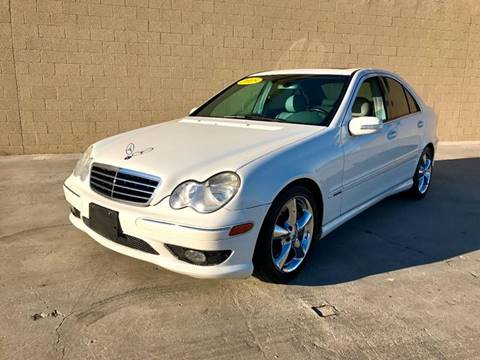 2005 Mercedes-Benz C-Class for sale at LT Motors in Rancho Cordova CA