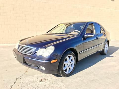 2004 Mercedes-Benz C-Class for sale at LT Motors in Rancho Cordova CA