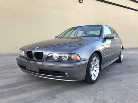 2003 BMW 5 Series for sale at LT Motors in Rancho Cordova CA