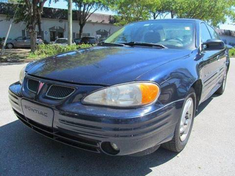 2000 Pontiac Grand Am for sale in Pompano Beach, FL