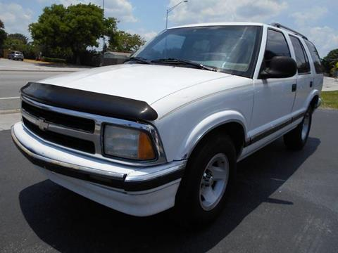 1997 Chevrolet Blazer for sale in Pompano Beach, FL