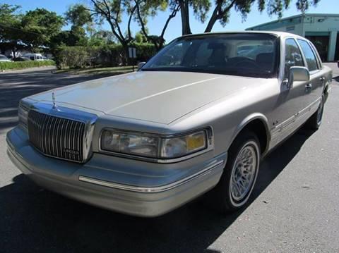 1997 Lincoln Town Car for sale in Pompano Beach, FL