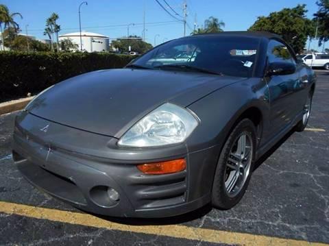 2003 Mitsubishi Eclipse Spyder for sale in Pompano Beach, FL