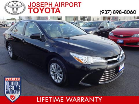 2016 Toyota Camry Hybrid for sale in Vandalia, OH