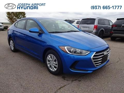 2017 Hyundai Elantra for sale in Vandalia, OH