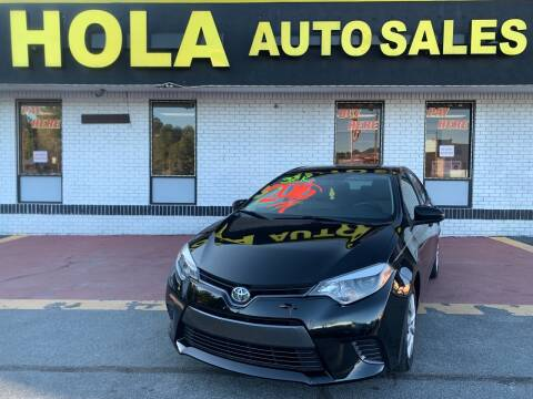 2016 Toyota Corolla for sale at HOLA AUTO SALES CHAMBLEE- BUY HERE PAY HERE - in Atlanta GA
