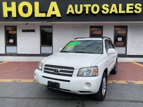 2006 Toyota Highlander Hybrid for sale at HOLA AUTO SALES CHAMBLEE- BUY HERE PAY HERE - in Atlanta GA