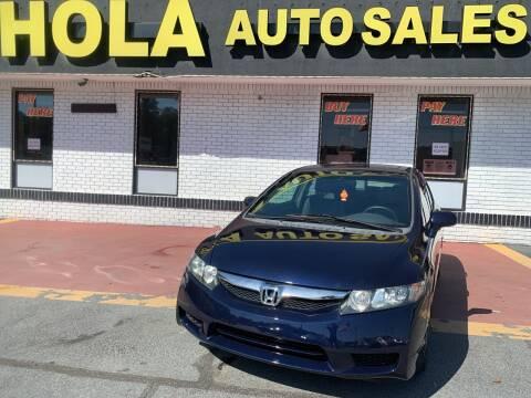 2009 Honda Civic for sale at HOLA AUTO SALES CHAMBLEE- BUY HERE PAY HERE - in Atlanta GA