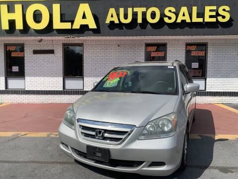 2005 Honda Odyssey for sale at HOLA AUTO SALES CHAMBLEE- BUY HERE PAY HERE - in Atlanta GA