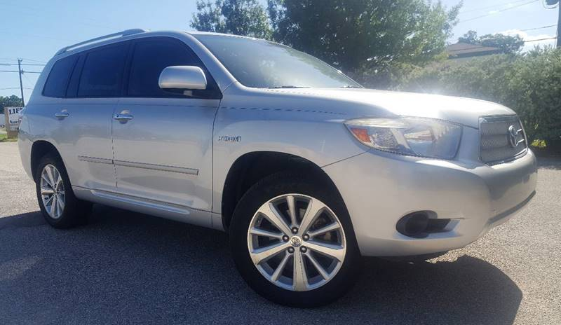 2008 Toyota Highlander Hybrid for sale at ULTIMATE MACHINE in Arlington TX