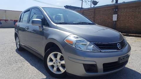 2012 Nissan Versa for sale at ULTIMATE MACHINE in Arlington TX