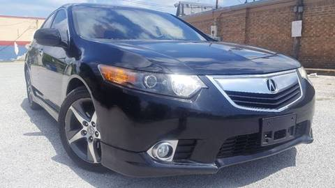 2012 Acura TSX for sale at ULTIMATE MACHINE in Arlington TX