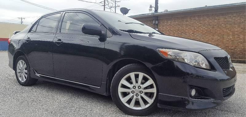 2010 Toyota Corolla for sale at ULTIMATE MACHINE in Arlington TX