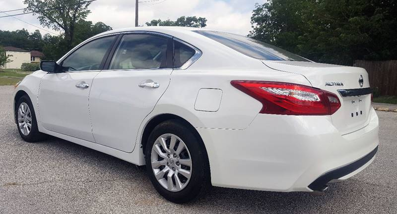 2016 Nissan Altima for sale at ULTIMATE MACHINE in Arlington TX