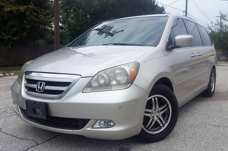 2006 Honda Odyssey for sale at ULTIMATE MACHINE in Arlington TX