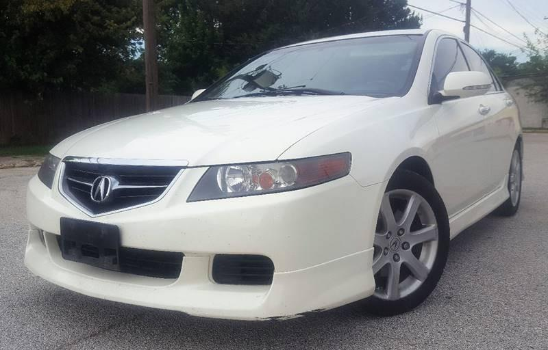 2004 Acura TSX for sale at ULTIMATE MACHINE in Arlington TX