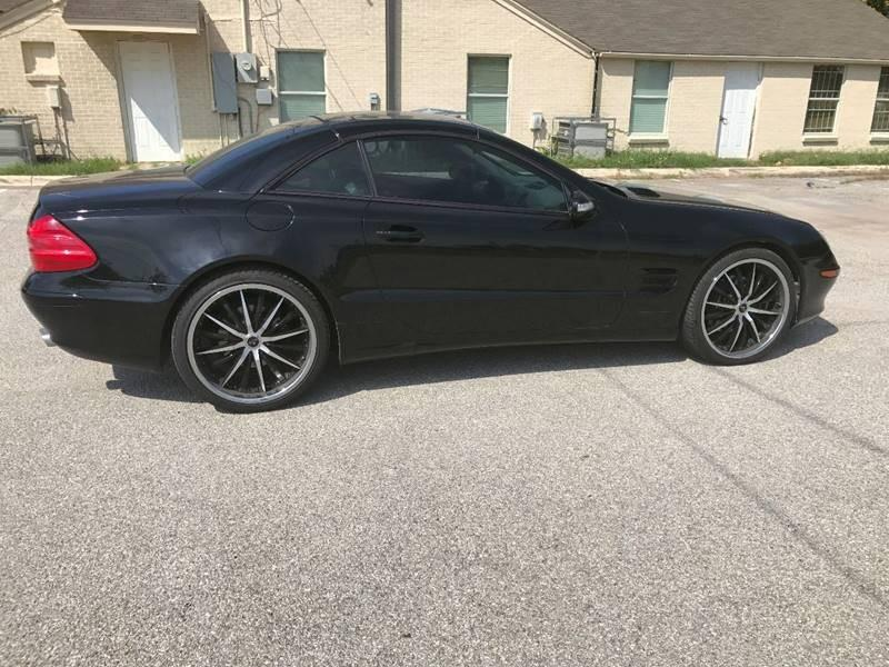 2003 Mercedes-Benz SL-Class for sale at ULTIMATE MACHINE in Arlington TX