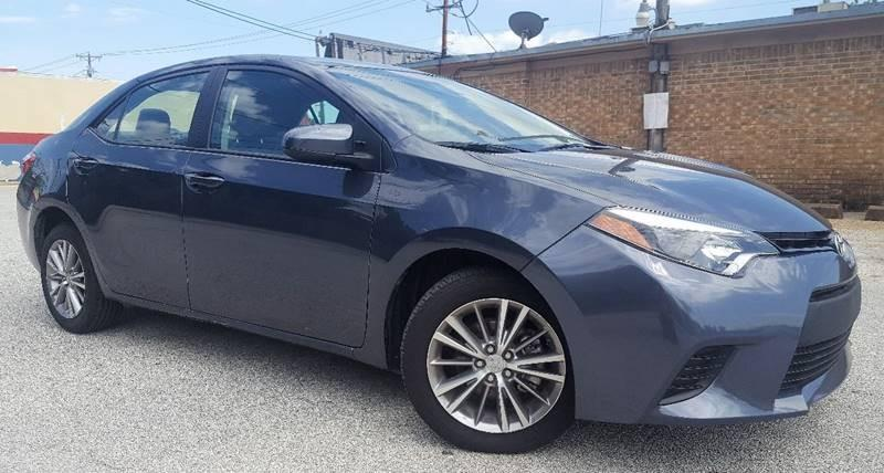 2015 Toyota Corolla for sale at ULTIMATE MACHINE in Arlington TX