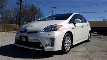 2012 Toyota Prius Plug-in Hybrid for sale at ULTIMATE MACHINE in Arlington TX