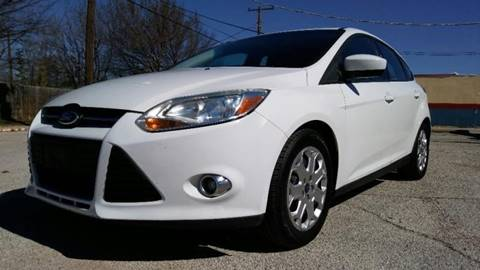 2013 Ford Focus for sale at ULTIMATE MACHINE in Arlington TX