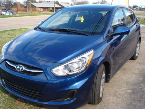 2016 Hyundai Accent for sale at ULTIMATE MACHINE in Arlington TX