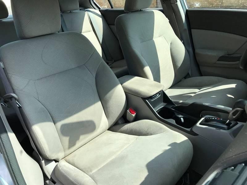 2012 Honda Civic for sale at ULTIMATE MACHINE in Arlington TX