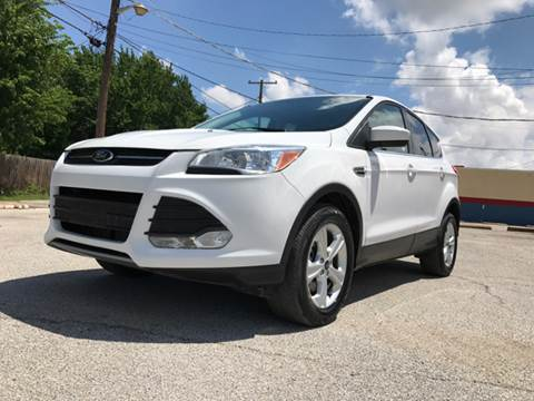 2016 Ford Escape for sale at ULTIMATE MACHINE in Arlington TX