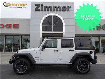 2017 Jeep Wrangler Unlimited for sale in Florence, KY