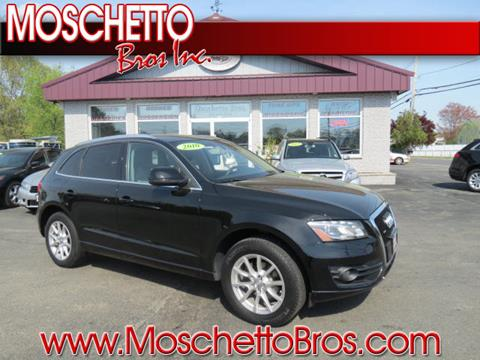2010 Audi Q5 for sale at Moschetto Bros. Inc in Methuen MA