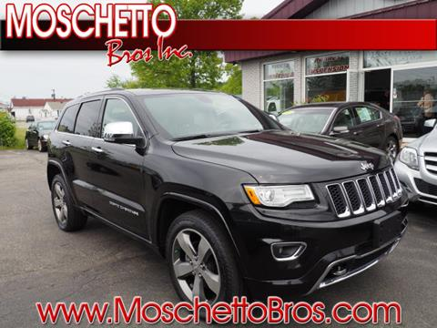 2015 Jeep Grand Cherokee for sale at Moschetto Bros. Inc in Methuen MA