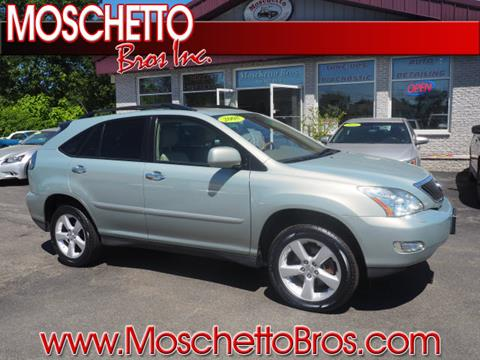 2008 Lexus RX 350 for sale at Moschetto Bros. Inc in Methuen MA