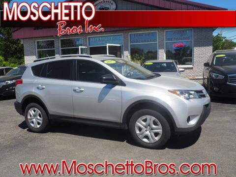 2015 Toyota RAV4 for sale at Moschetto Bros. Inc in Methuen MA