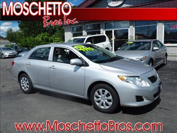 2010 Toyota Corolla for sale at Moschetto Bros. Inc in Methuen MA